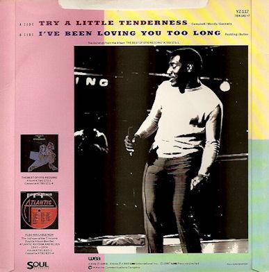 Otis Redding – I've Been Loving You Too Long